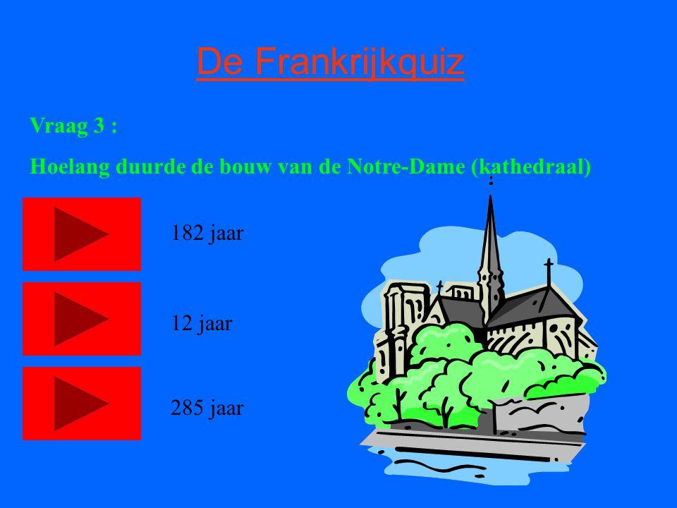De Frankrijkquiz Vraag 4 : Wie was ooit een Franse president .