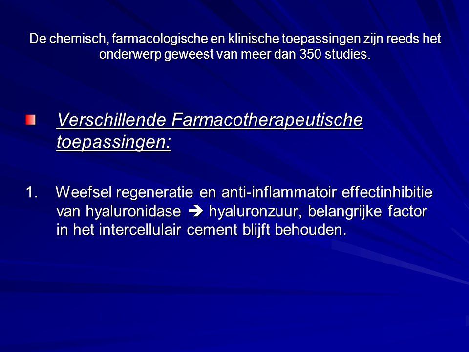 Toxiciteit Testen op mutageniciteit en carcinogeniciteit: veilig bevonden LD50 bij muizen: 50ml vers geperst sap/kg Bij ratten: gedurende 4 weken zeer hoge doses toegediend aan ratten => geen evidentie van toxische effecten.