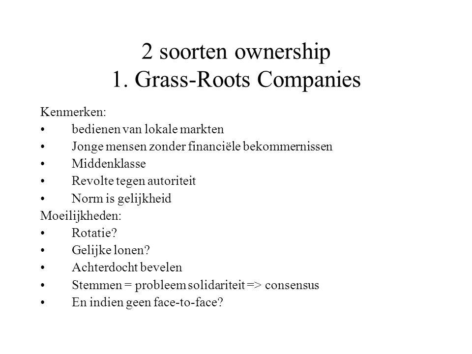 2 soorten ownership 1.