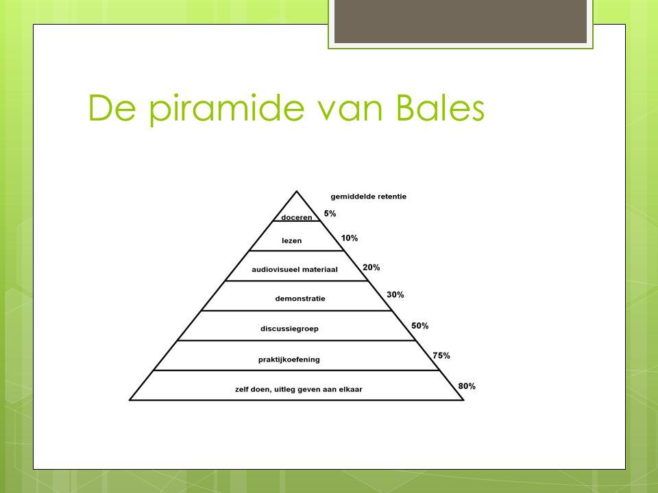 De piramide van Bales
