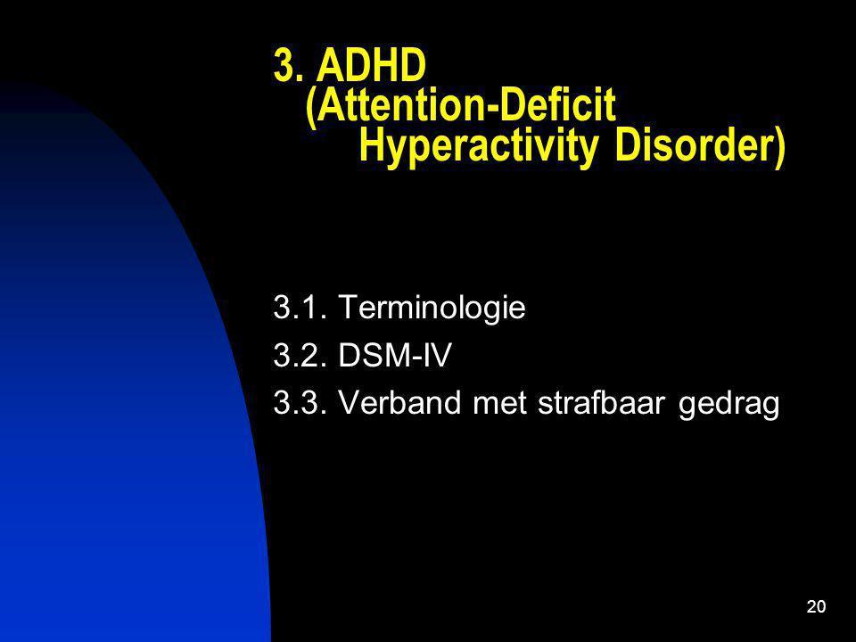 21 (ADHD) 3.1.