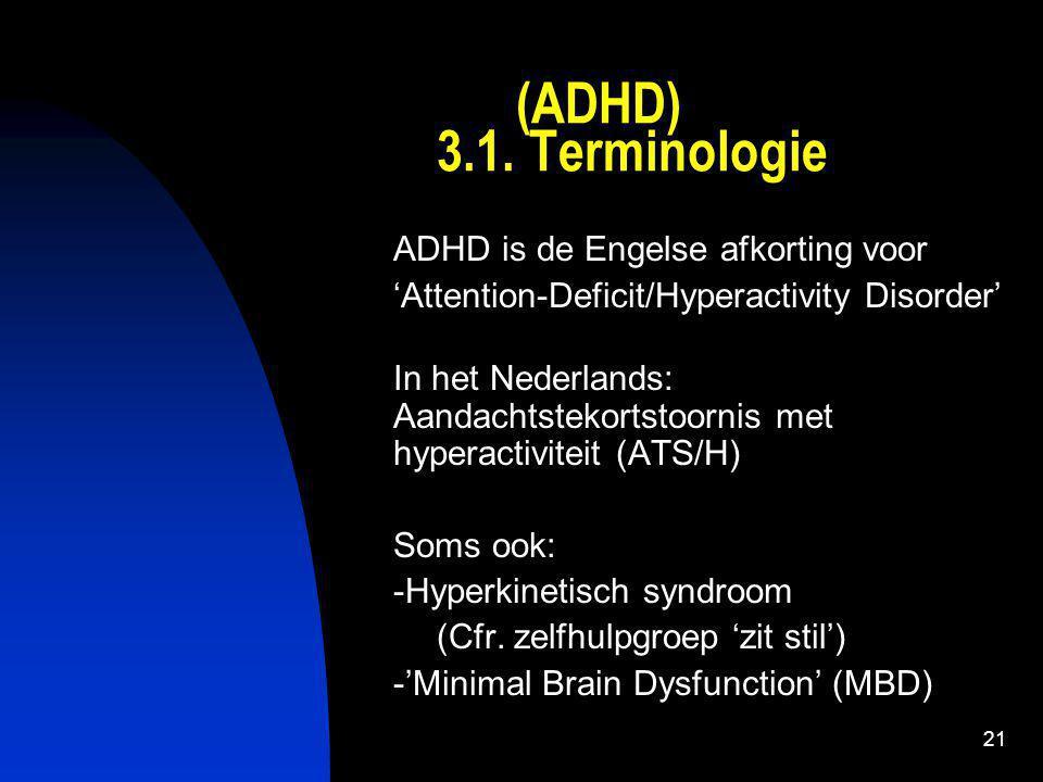 22 (ADHD) 3.2.