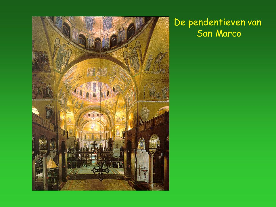 De pendentieven van San Marco