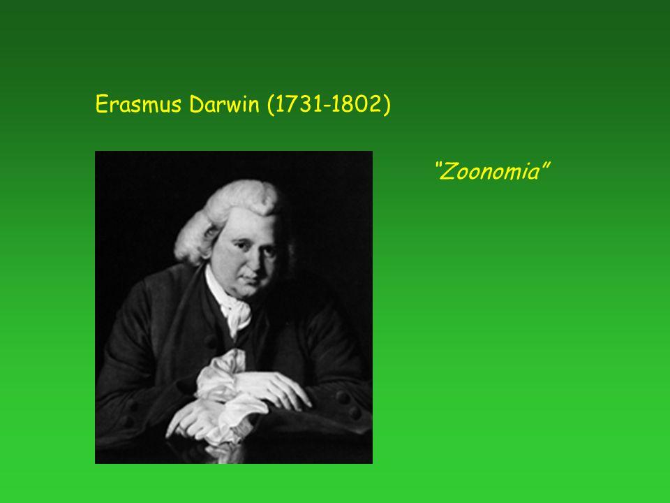 "Erasmus Darwin (1731-1802) ""Zoonomia"""