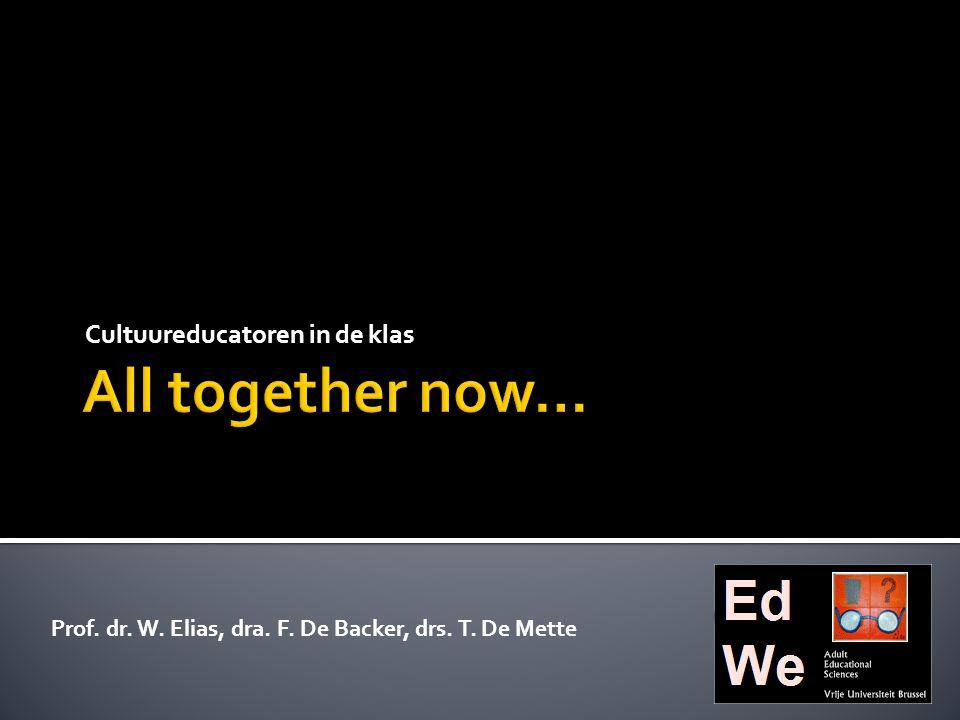  Available Designs:  Bestaande gebruiken, conventies, semiotische systemen (kunst), culturele uitingen  Ontwerpen gebruiken is ook zelf ontwerpen:  Evaluatie, transformatie, innovatie,…  The Redesigned:  Sociaal-culturele transformatie met nieuwe waarden, gebruiken, symbolen, artefacten en gebruiken Bron: The New London Group, 1996