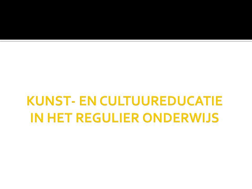 → implementatie kunst- en cultuureducatief beleid  Vlaams Ministerie van Onderwijs en Vorming  Vlaams Ministerie van Cultuur, Jeugd, Sport en Media  Welzijn, Ruimtelijke ordening,..
