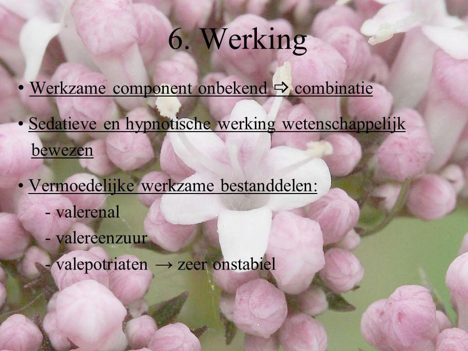 Seneuval® - combinatiepreparaat:  valeriaanextract (100 mg)  crataegus extract (25 mg)  passiflora extract (25 mg) - dosis:  nervositeit: 1 à 2 capsules, 3 maal per dag  slaap: 2 capsules, 1/2u.
