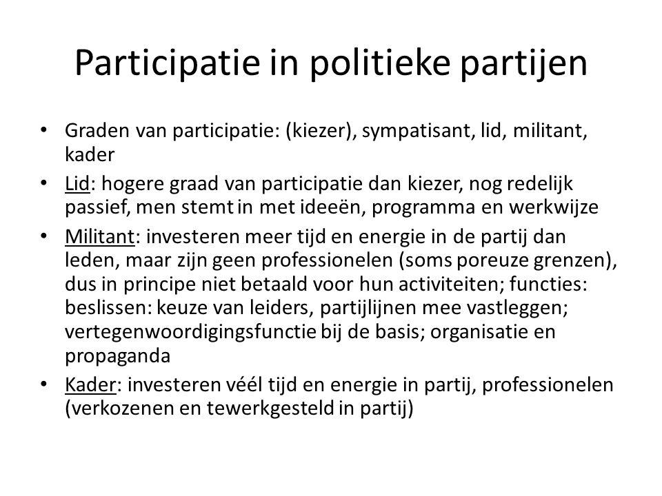 Sociale bewegingen en pressiegroepen Definities: -verschil met politieke partijen -verschil tussen sociale bewegingen en pressiegroepen -klassieke versus nieuwe sociale bewegingen