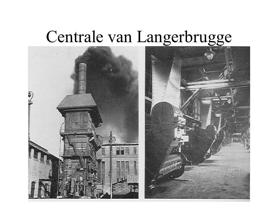 Overzicht van de centrales in België kerncentrale klassieke centrale pompcentrale stoom-gas (STEG) in aanbouw