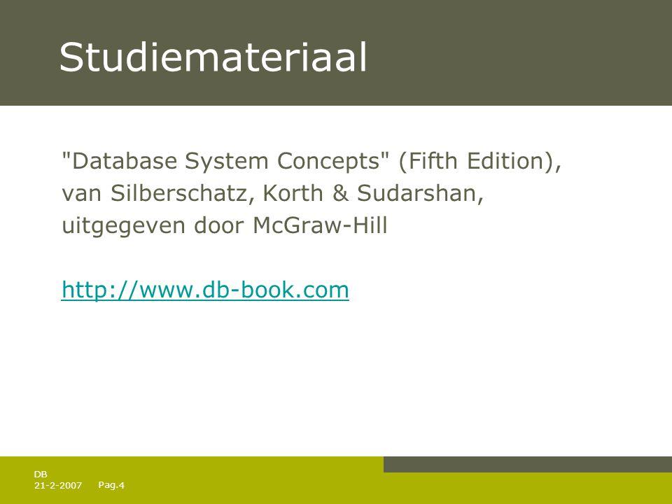 Pag. 21-2-20074 DB Studiemateriaal