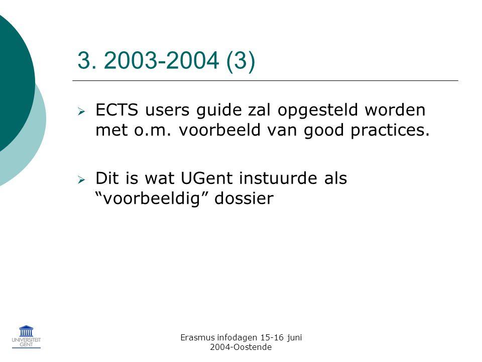 Erasmus infodagen 15-16 juni 2004-Oostende 3.