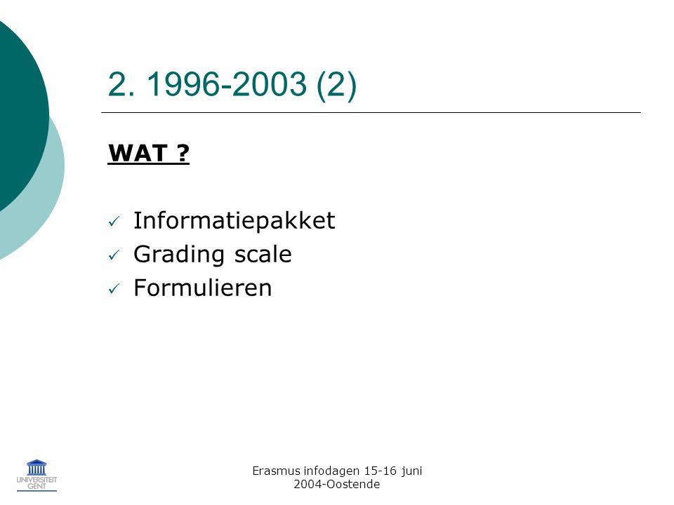 Erasmus infodagen 15-16 juni 2004-Oostende 2. 1996-2003 (2) WAT .