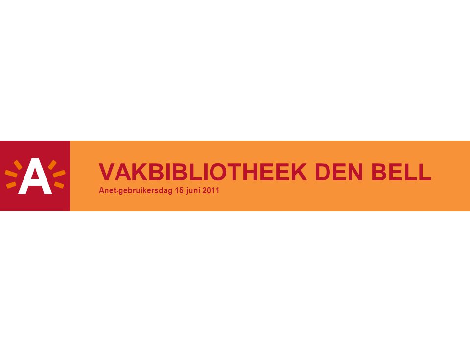 2 ONTSTAAN -Een nieuwe instelling  sinds 1 jaar operationeel -Tot 2009 : Administratie stad en OCMW verspreid over meer dan 30 locaties Vakliteratuur apart besteld en aangekocht voor elke dienst -Vanaf 2009 : Verhuis backoffice diensten naar den Bell Opstart vakbib  onderscheid centrale vakbibliotheek/groepsbibliotheek
