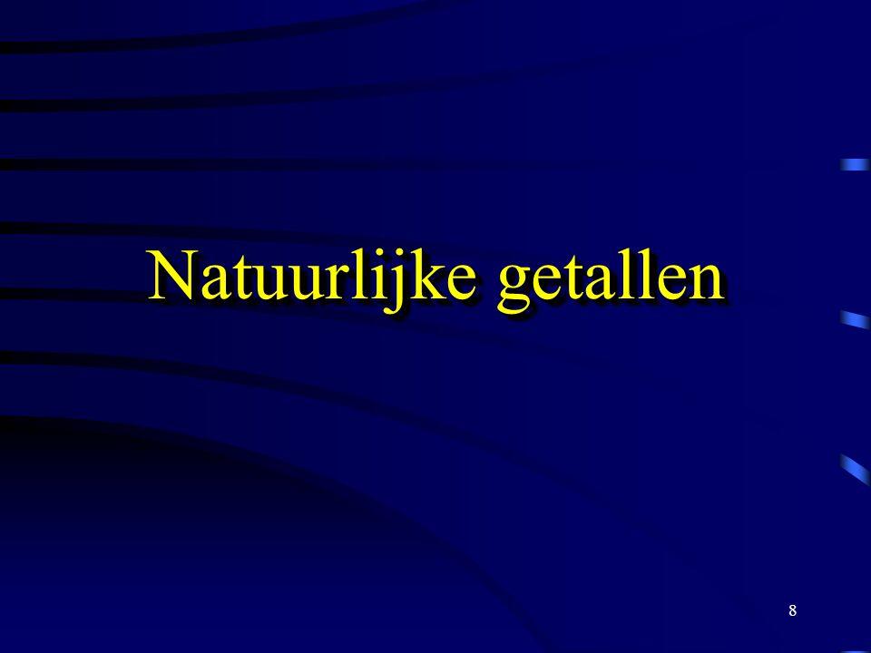8 Natuurlijke getallen