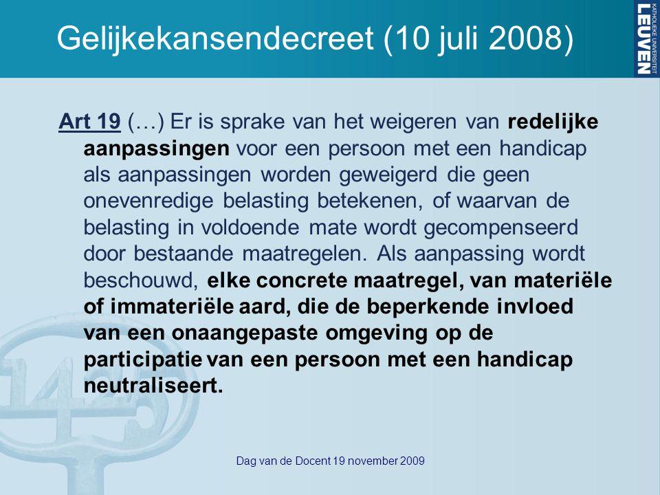 Dag van de Docent 19 november 2009 Academische standaards vs.