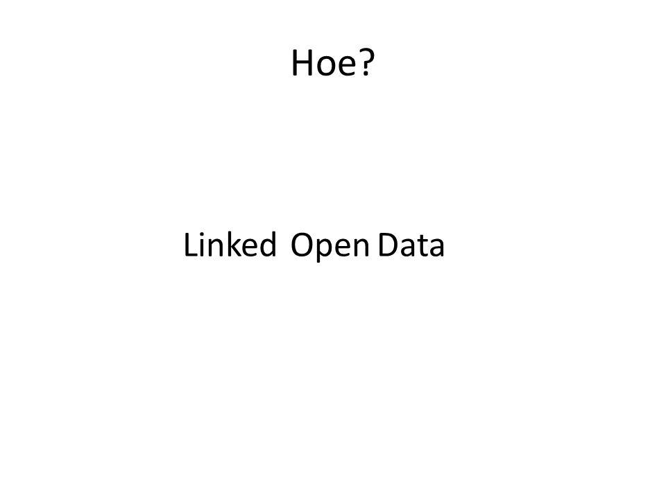 LinkedOpenData Hoe