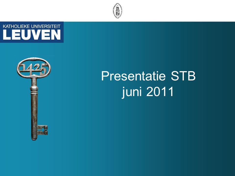 Presentatie STB juni 2011