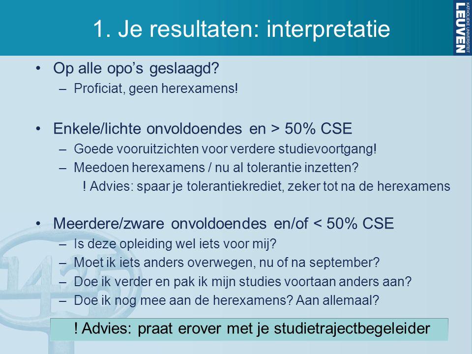 4.Bindend Studieadvies Voor wie. –Studenten in een bacheloropleiding.