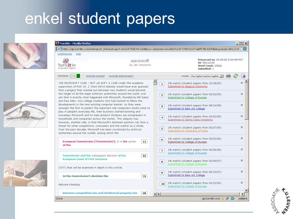 enkel student papers