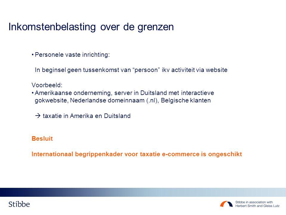 Btw Btw & e-commerce: taxatie in land van ontvanger >< Ink.bel.