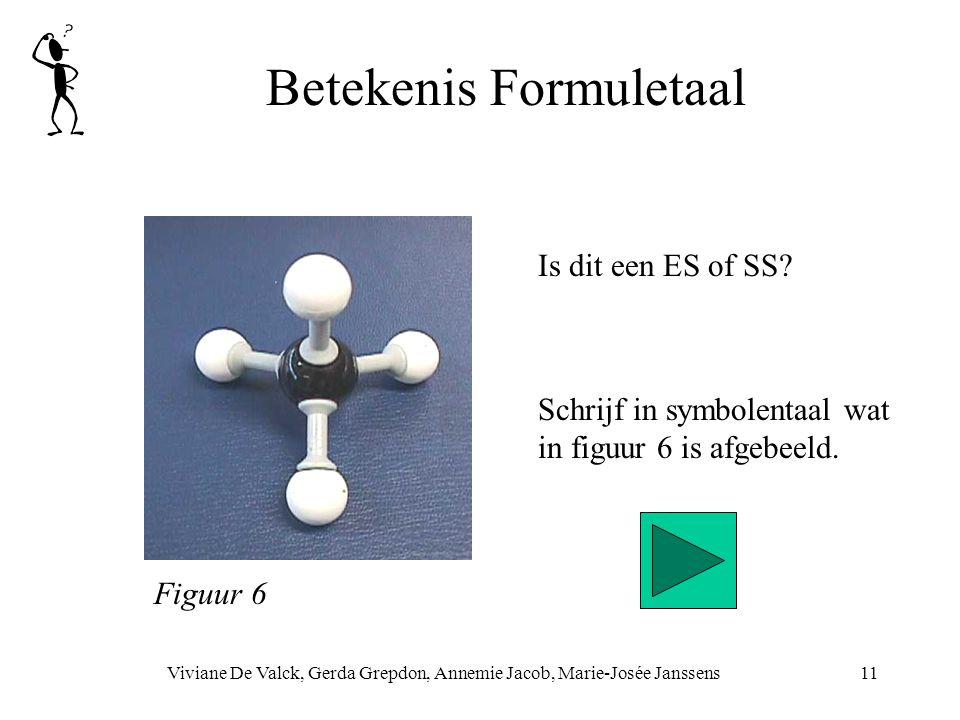 Betekenis Formuletaal Viviane De Valck, Gerda Grepdon, Annemie Jacob, Marie-Josée Janssens11 Schrijf in symbolentaal wat in figuur 6 is afgebeeld. Fig