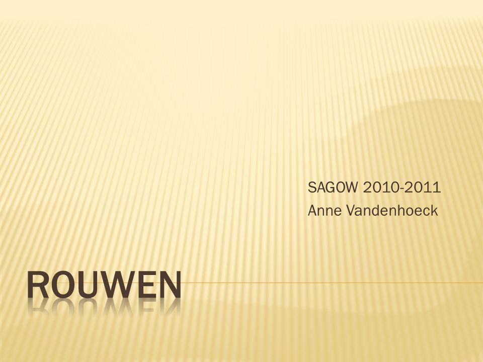 SAGOW 2010-2011 Anne Vandenhoeck