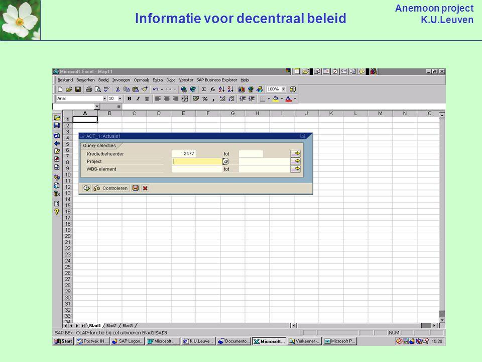 Anemoon project K.U.Leuven Informatie voor decentraal beleid