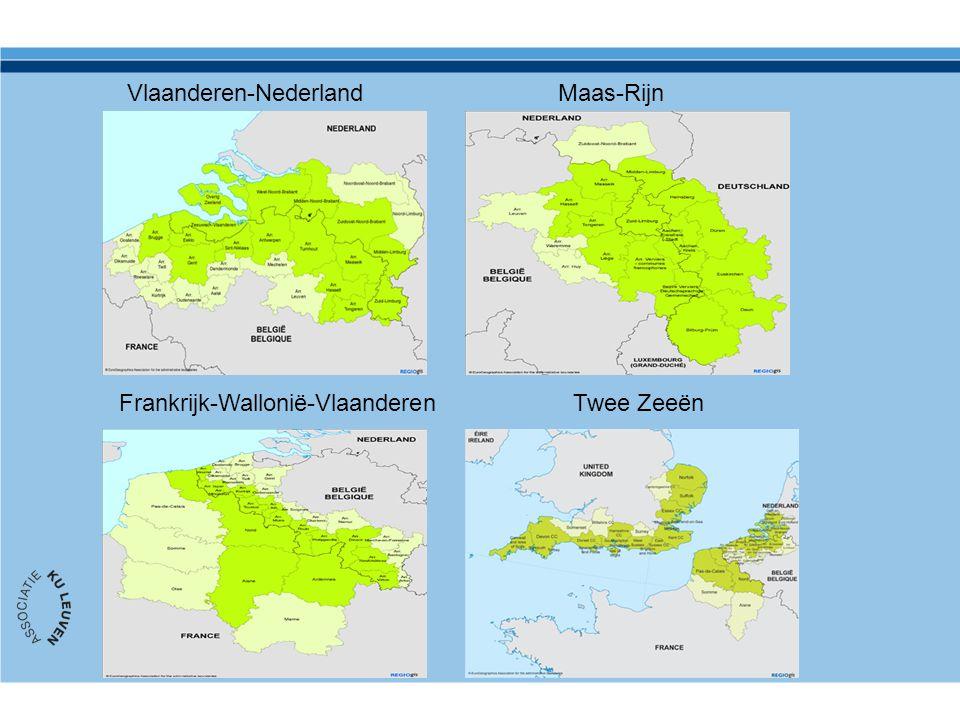 Vlaanderen-NederlandMaas-Rijn Frankrijk-Wallonië-VlaanderenTwee Zeeën