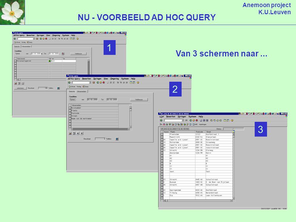 Anemoon project K.U.Leuven Hoofding Overzicht lijnen Detail lijn NIEUW - ALLES OP 1 SCHERM