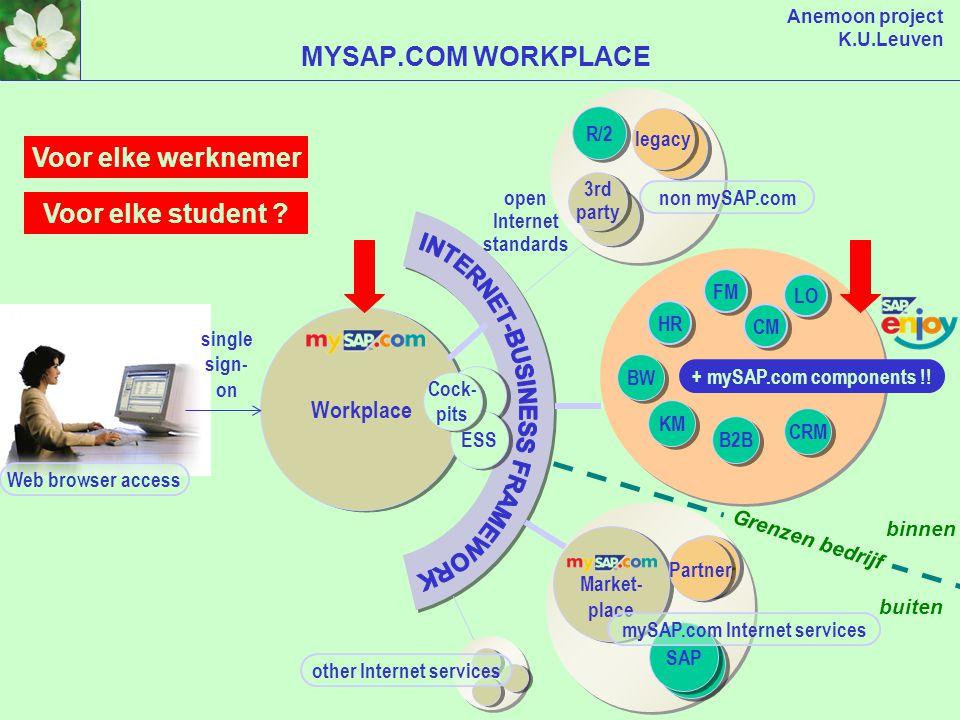 Anemoon project K.U.Leuven Workplace Marketplace Application Hosting OVERZICHT