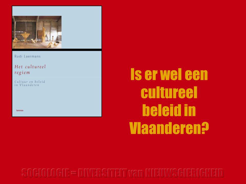 Is er wel een cultureel beleid in Vlaanderen?