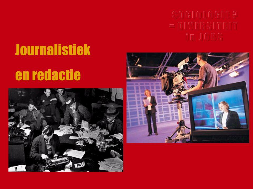 Journalistiek en redactie