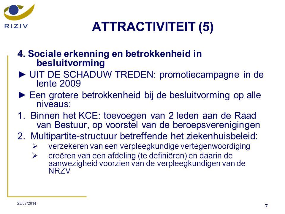 23/07/2014 18 DIFFERENTIATIE (2)  Het project is gestart op 1 juni 2007 en de voorziene duur bedraagt 4 jaar.