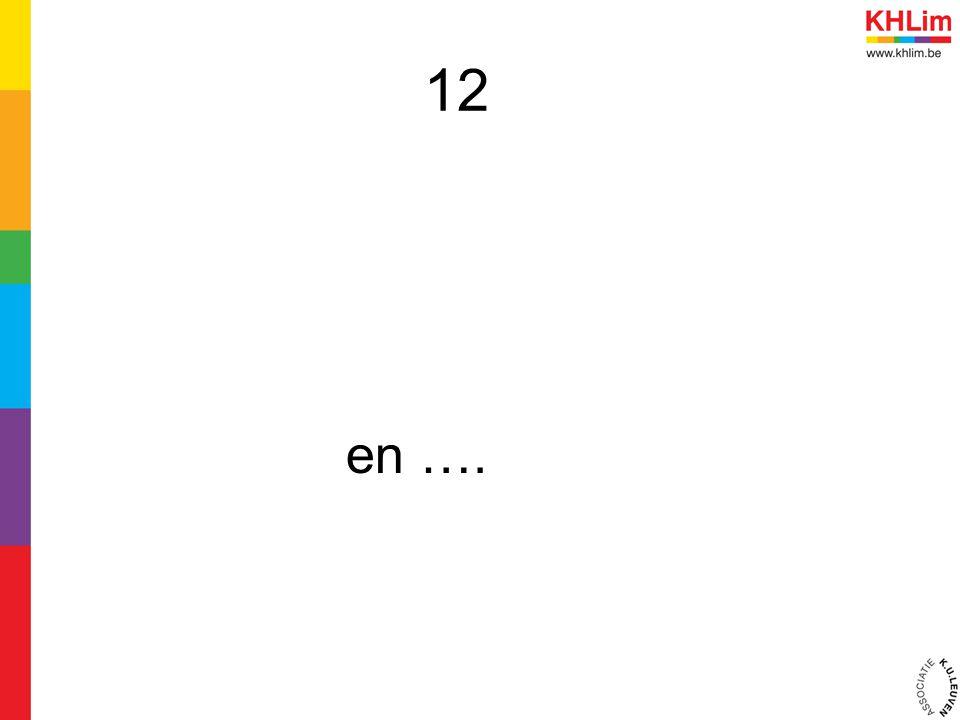 12 en ….