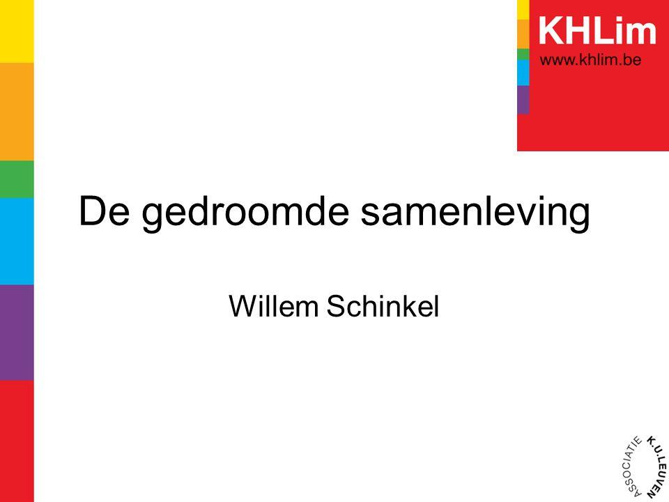 De gedroomde samenleving Willem Schinkel
