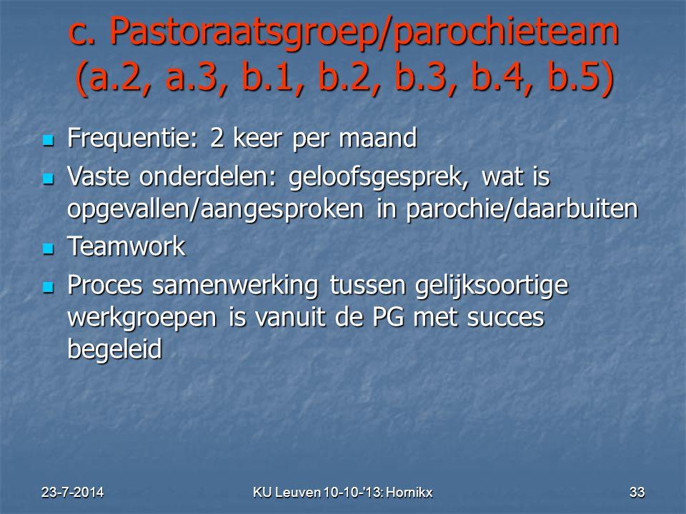 23-7-2014KU Leuven 10-10- 13: Hornikx 33 c.