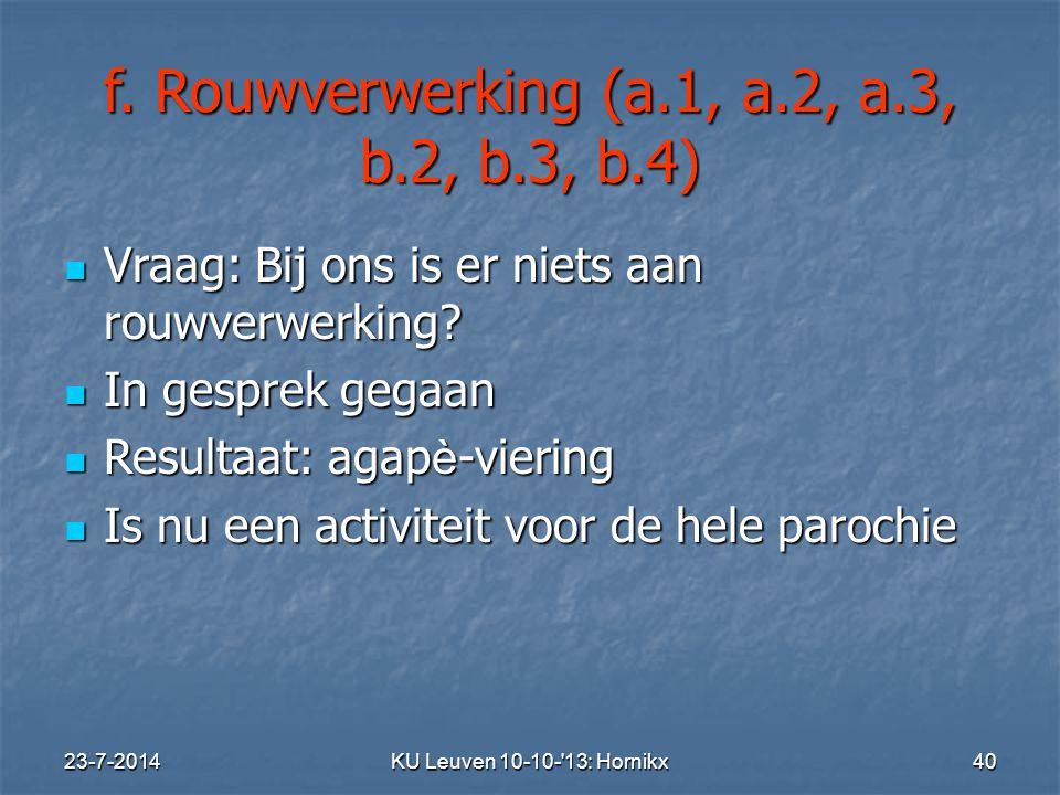 23-7-2014KU Leuven 10-10- 13: Hornikx 40 f.