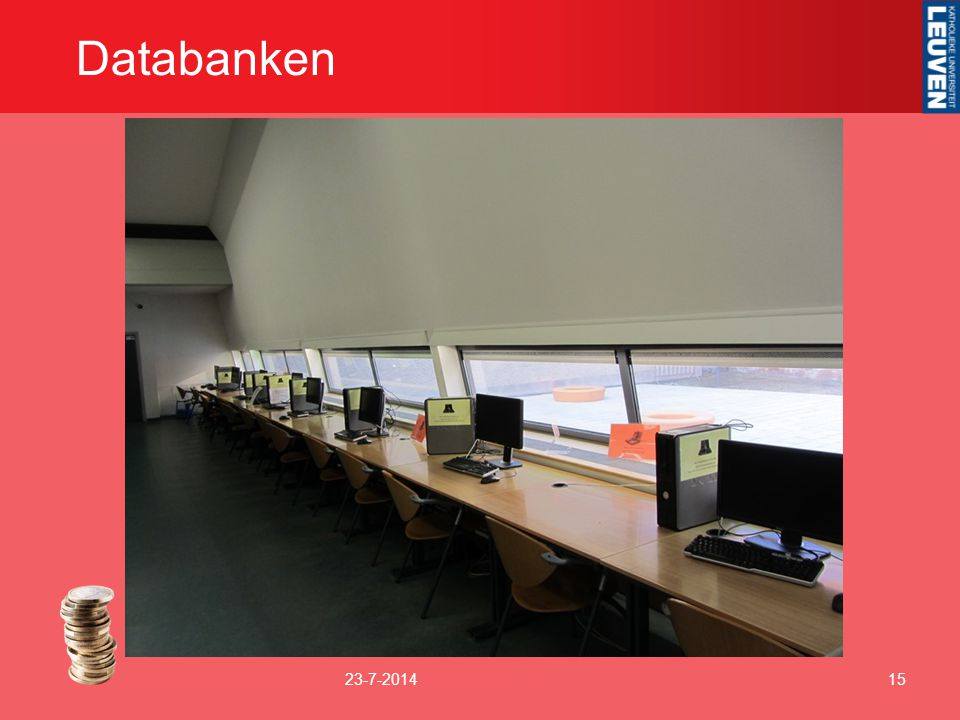 Databanken 23-7-201415