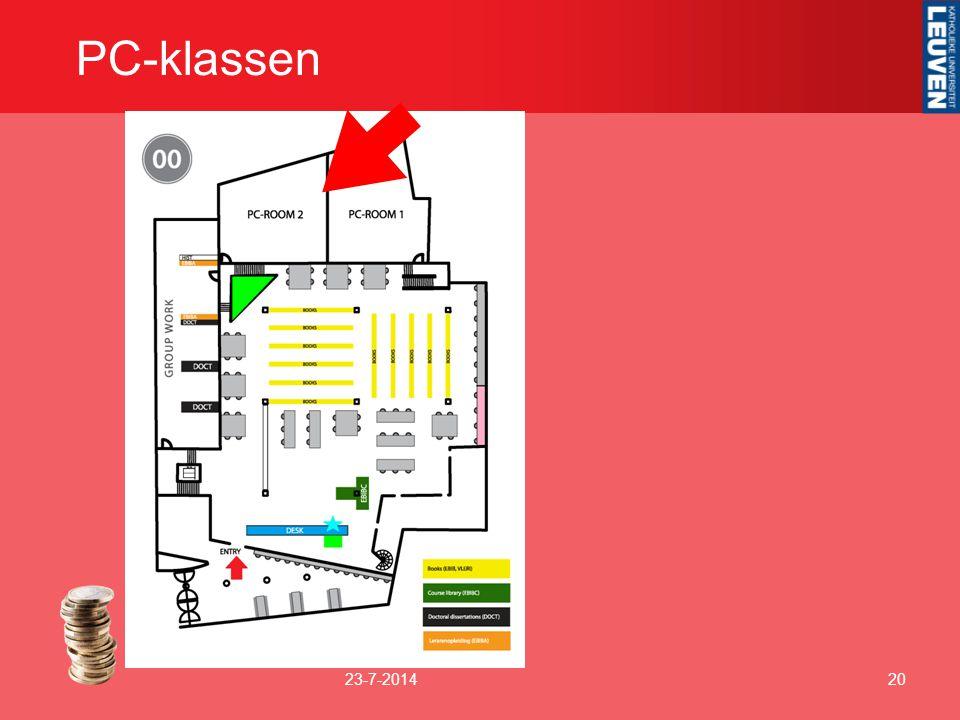 PC-klassen 23-7-201420