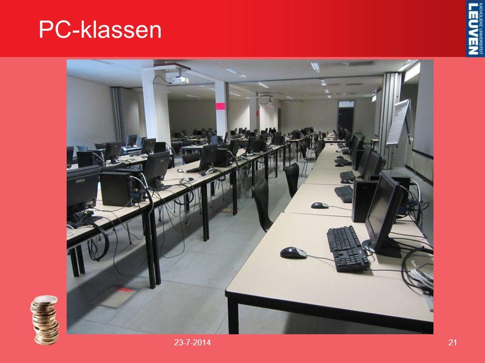 PC-klassen 23-7-201421
