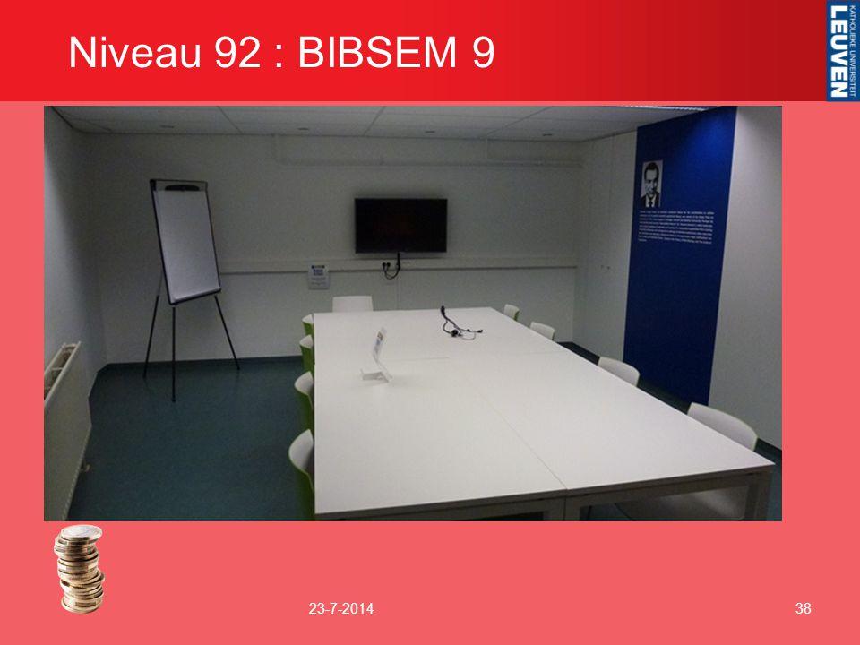 Niveau 92 : BIBSEM 9 23-7-201438