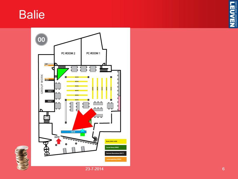 Balie 23-7-20146