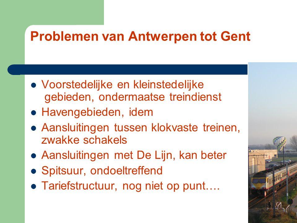 De trein, laat je er leiden IR - van Antwerpen tot Gent ernieuwend treindienstconcept riendelijk voor het milieu ult het IC-net aan eilig olume, extra