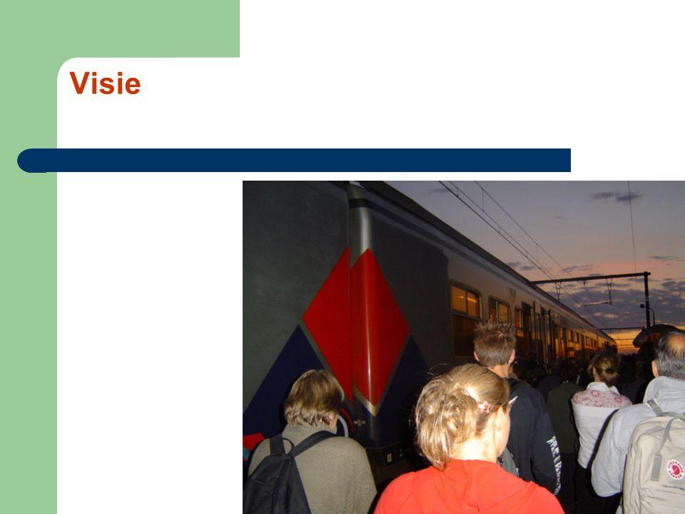 Problemen van Antwerpen tot Gent Voorstedelijke en kleinstedelijke gebieden, ondermaatse treindienst Havengebieden, idem Aansluitingen tussen klokvaste treinen, zwakke schakels Aansluitingen met De Lijn, kan beter Spitsuur, ondoeltreffend Tariefstructuur, nog niet op punt….