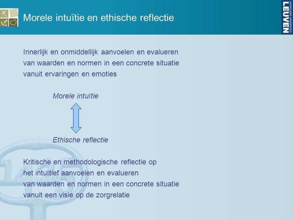Beleving en effect bij gesprekspartner Gepastheid van aanraking en effect ervan Proportionaliteit tussen middel en doel: gepastheid.