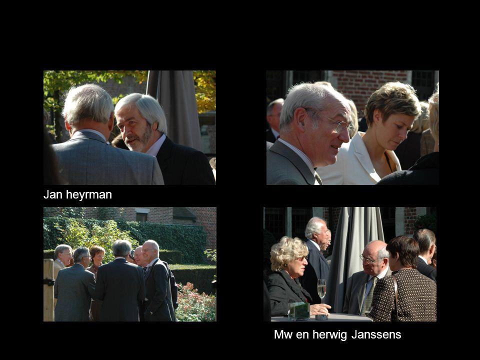 Jan heyrman Mw en herwig Janssens