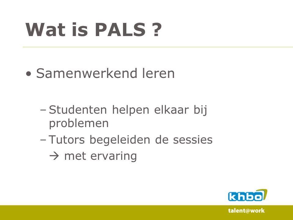 Wat is PALS .
