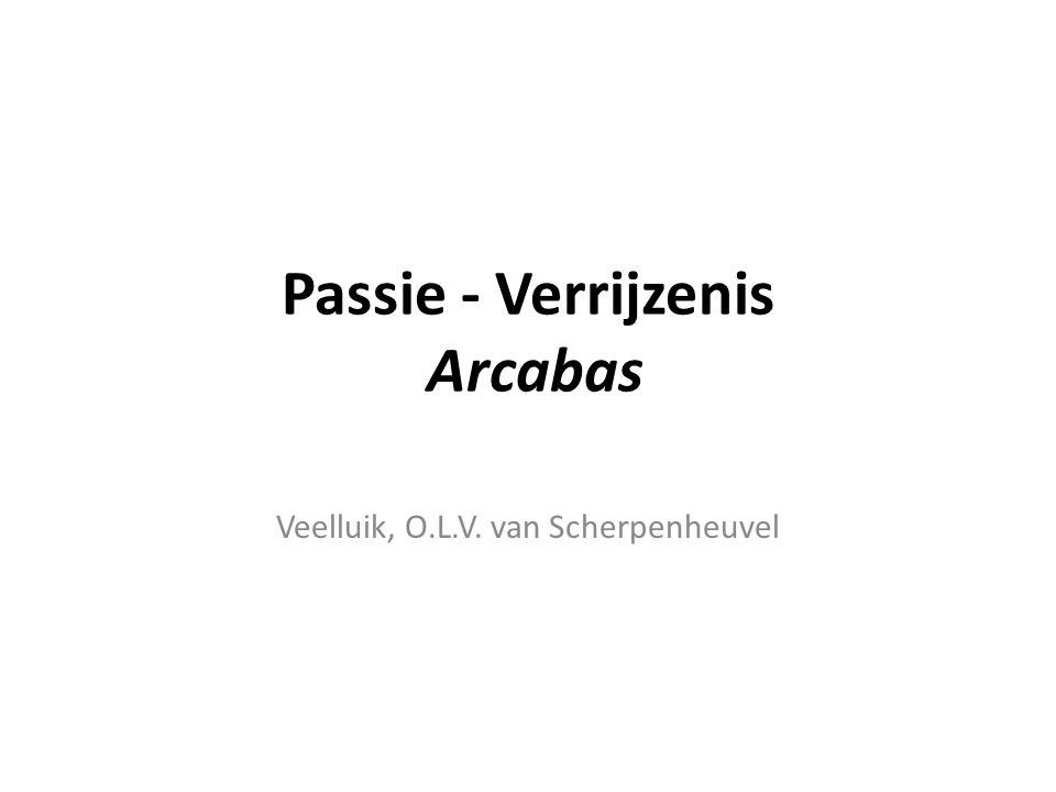 Arcabas - Veelluik Passie - Verrijzenis 2 Aanloop naar de kruisiging