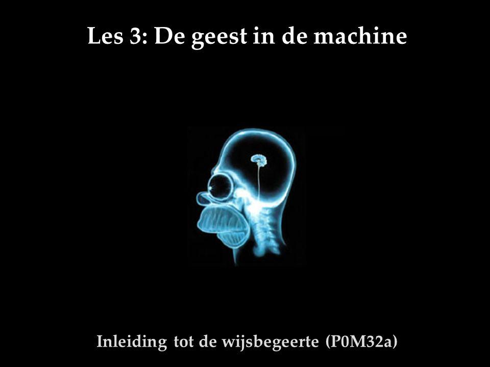 Pieter R.AdriaensInleiding tot de wijsbegeerte Les 3 22 3.