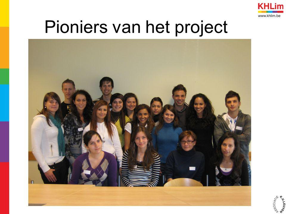 Pioniers van het project
